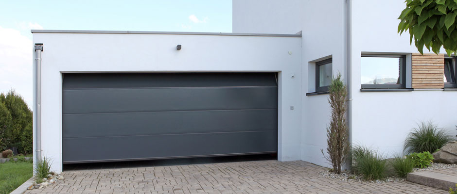 Porte garage gris anthracite 20171009011034 - Porte de garage sectionnelle gris anthracite ...